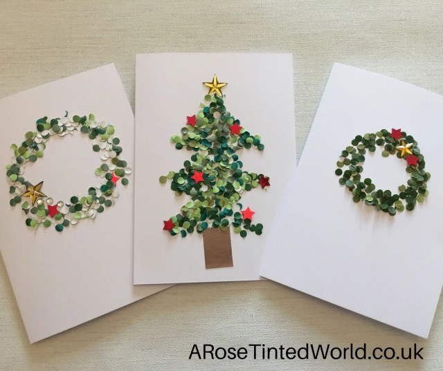 Card Making With Confetti