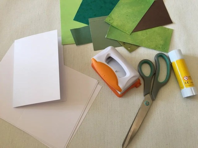 using card instead of leaves