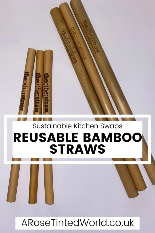 Zero Waste Kitchen Swaps - reusable bamboo straws - here are some great ideas for some easy kitchen swaps that you can make on your journey to a more sustainable and ecofriendly lifestyle. Be frugal, save money and be eco friendly. Swap disposable plastic products for unsponges, beeswax wraps, reusables etc.