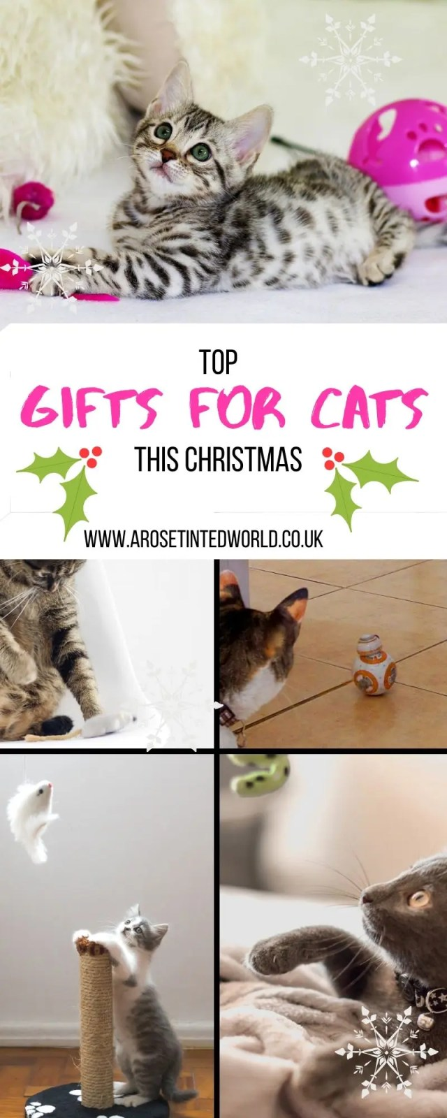 Top Gifts for Your Cat this Christmas - here are some great ideas for cat lovers - what to buy your cat this Xmas - Christmas gifts for cats and cat owners #Christmasgifts #christmasgiftideas #catgifts #catgiftideas #giftsforcats #catlovers #catpresents #catpresentideas #catlovergifts #catloversgiftsideas #catproducts