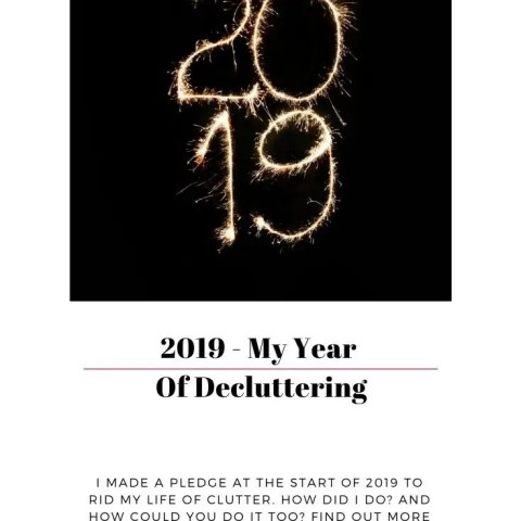 My Year Of Decluttering