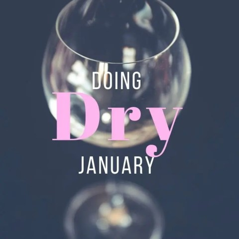 Doing Dry January