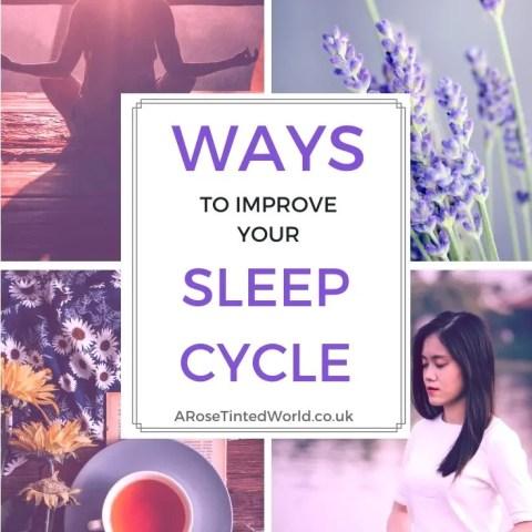 Ways To Improve Your Sleep Cycle
