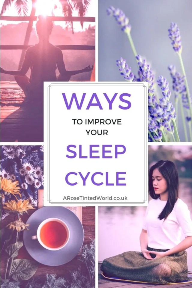 Ways To Improve Your Sleep Cycle -The ultimate guide to improving your sleep quality. Have you tried all the usual ways of getting a good night but still not sleeping well? Here are some helpful extra adjucts that may work for you. Sleep better and wake up refreshed for the day ahead. #sleep #sleepdeprived #insomnia #sleppless #lifehacks #sleeptips #sleeping #insomniatips #insomniahacks #insomniaessentialoils