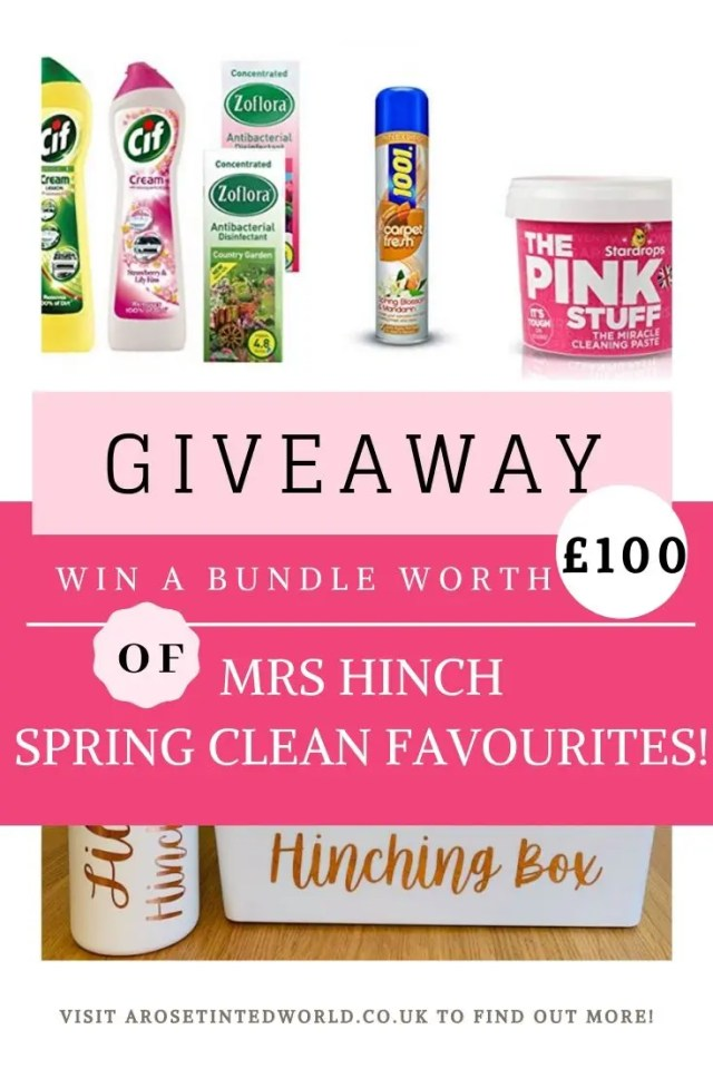 Win A Mrs Hinch Spring Clean Bundle Worth £100 #win #competition