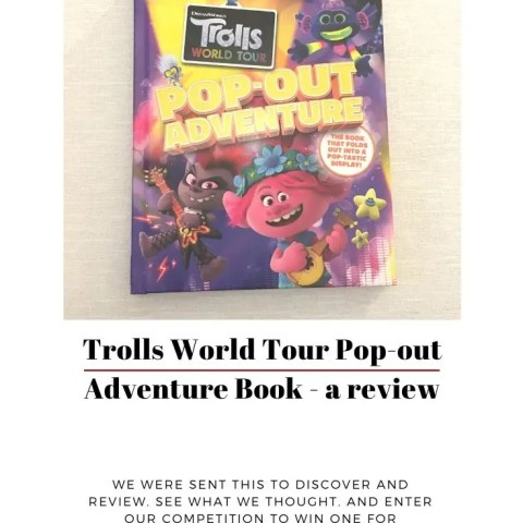 Trolls World Tour Pop-Out Adventure Book – Our Review And Giveaway!