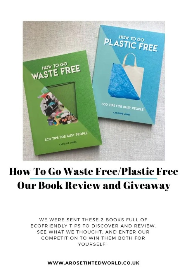 How To Go Waste And Plastic Free - we could all do a little more for the environment. These two books have helpful eco tips for busy people. See our review. #bookreview #ecofriendlytips #wastefree #plasticfree #zerowaste