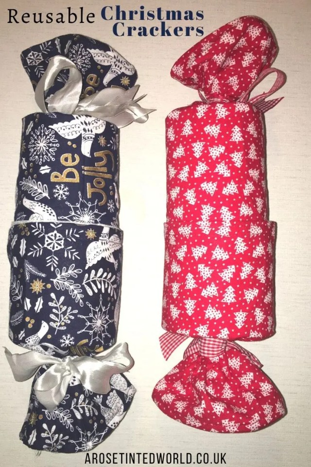Reusable Crackers -Sewing Projects That You Can Sell - make money from what you sew with these ideas for brilliant & sellable DIY items. Links to Full step by step tutorials for each. #sewing #sewingtosell #sewingprojects #sellinghandmade #craftfairs #craftfairideas #sewingcrafts