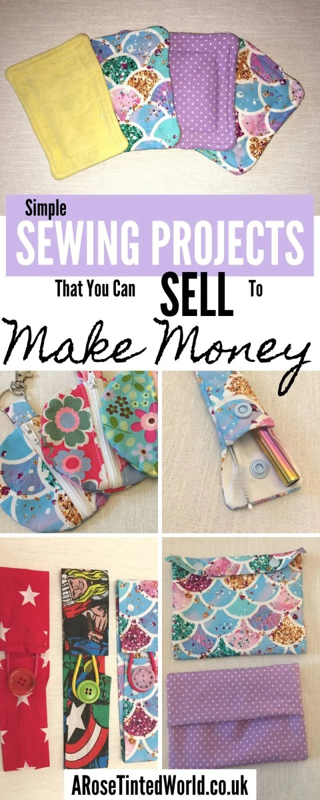 Sewing To Sell At Craft Fairs : sewing, craft, fairs, Sewing, Projects, Tinted, World
