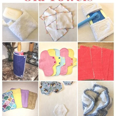 Ways To Upcycle Old Towels