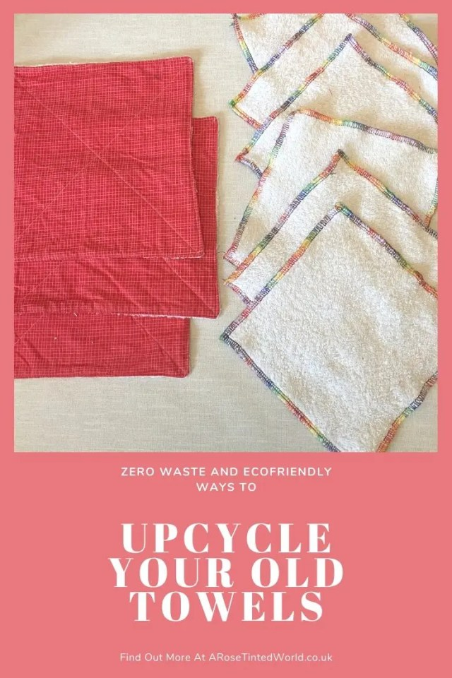Family Cloth - Ways To Upcycle Old Towels - looking for zero waste, sustainable ideas of how to reuse your old towel? Find here some great ways of recycling this versatile fabric and making some brilliantly useful items. #sewing #zerowaste #sustainable #upcycle #recycle #zerowasteliving #zerowastesewing #upcycledtowels