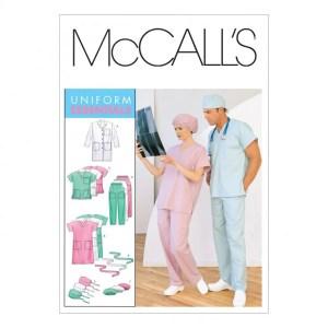 McCalls 6107 scrub pattern
