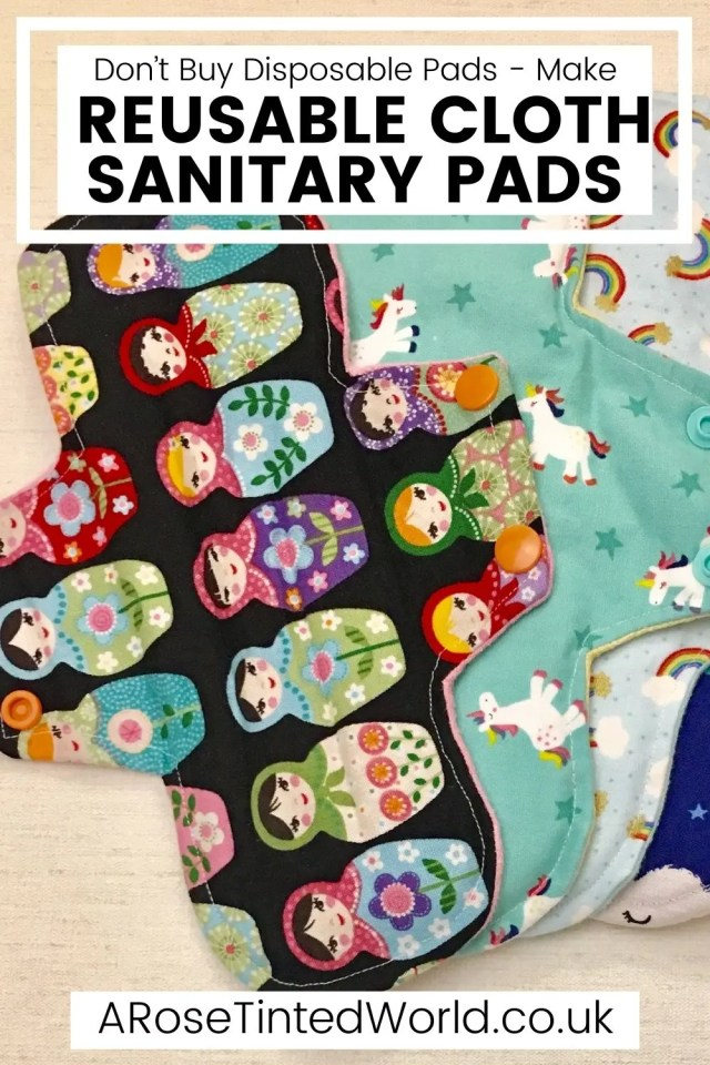 Reusable Sanitary Pads - DIY Projects You Can Make At Home To Save Money - stop buying expensive disposable items and make these reusable ideas instead. Great ideas for items that you can make yourself to use around the home and save cash. Easy making and sewing craft projects for frugal living. Money saving makes for ecofriendly and sustainable living. Upcycling, repurposing and recycling ito create useful items around the home. #diyprojects #moneysavingprojects #sewing #easysewingprojects