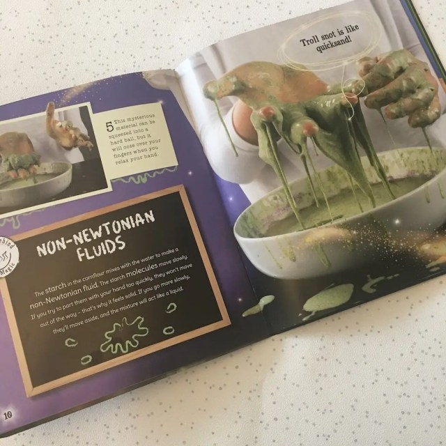 Potions Class Book - inside