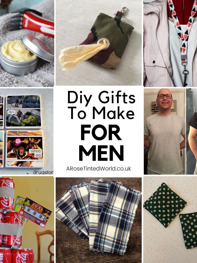 Gifts To Make For Men - some brilliant ideas for DIY handmade presents for the man in your life. Perfect for birthdays, Christmas, father's day & more. Easy sewing and making tutorials for each gift idea. Create your own personalised hand made gift for your father, boyfriend , fiance or husband. Fully customisable gifts that you can make at home. Perfect presents for the man who is hard to buy for.