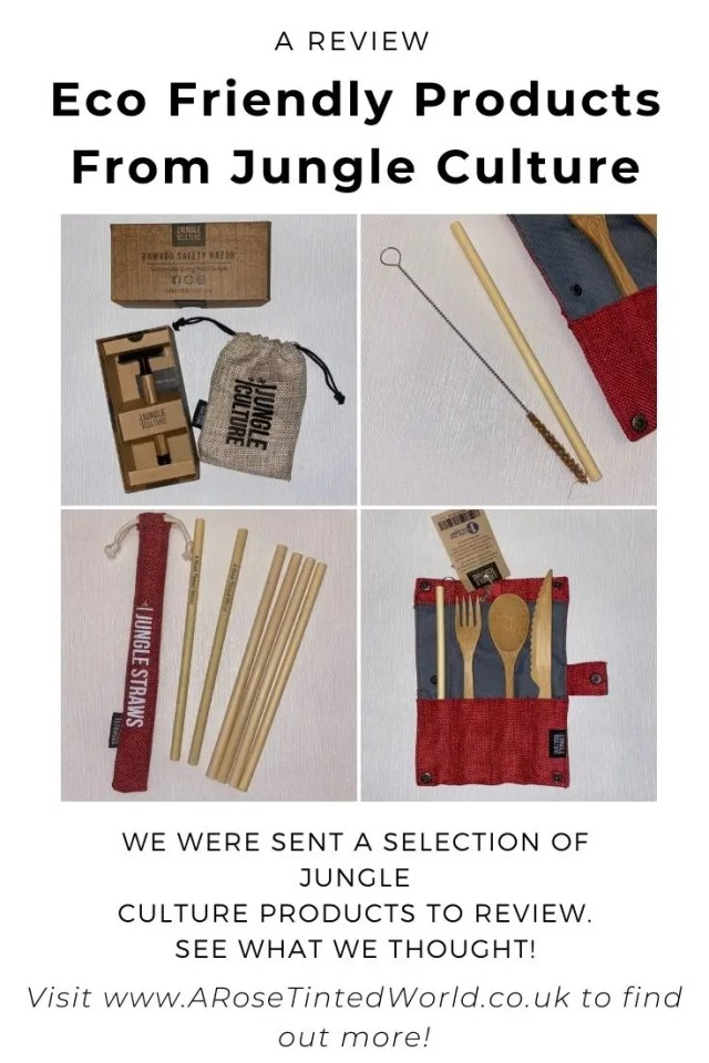 Eco Friendly Products From Jungle Culture - we were sent a selection of earth friendly and sustainable gift ideas - see what we thought.