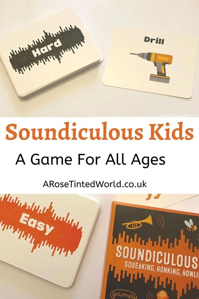 Soundiculous Kids - A family game for all ages -Are you looking for a fun family game that family of all ages can play around the table after Christmas Dinner? Then do read on. Here is our review of the new game from Gamely Games