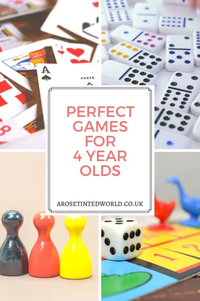 Perfect Games For 4 Year Olds - Board and card games can be a really useful teaching tool for preschoolers. Here are some of our favourites. Is your here? #games #gamesforkids #gamestoplay #preschoolers #preschoolergames #preschooleractivities #preschoollearning #4yearsold #gamesforchildren