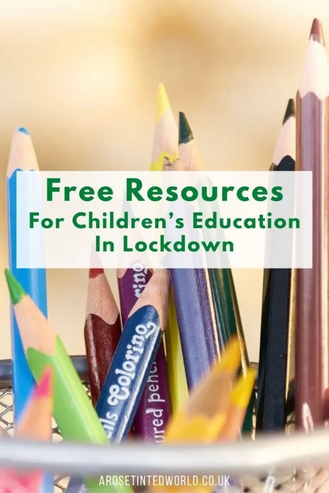 Free Resources For Children's Education - A list of places to find great teaching tools for kids. Perfect for lockdown or home schooling. During Lockdown schools have suspended some teaching. Here is a large list of some of the best places to find free and almost free education from sites around the world. Perfect for homeschooling and educating your child at home.