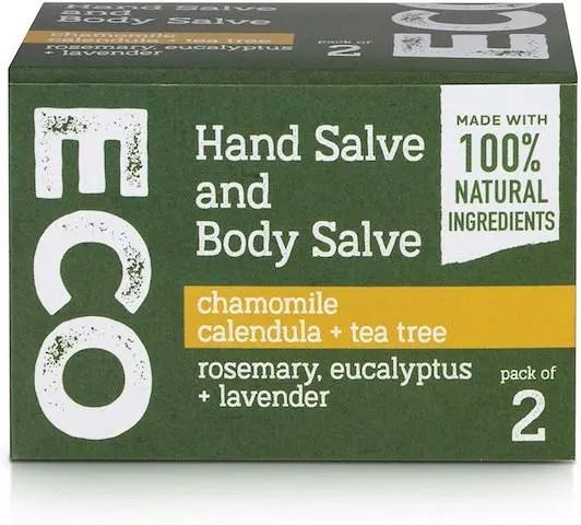 Bradys Botanicals_Hand and Body Salve Cream Skincare Set