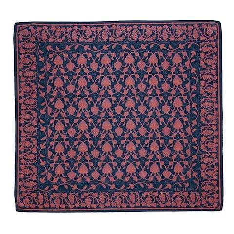 Rory Hutton, Damascus Silk Scarf, 90x90cm, Silk
