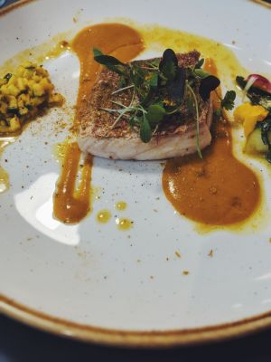 Red snapper Mauritian Curry