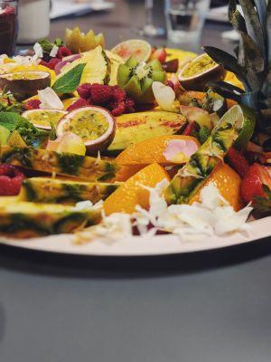 Fruit platter Lakaz Maman