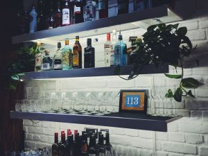 Bar at room2 Hometel