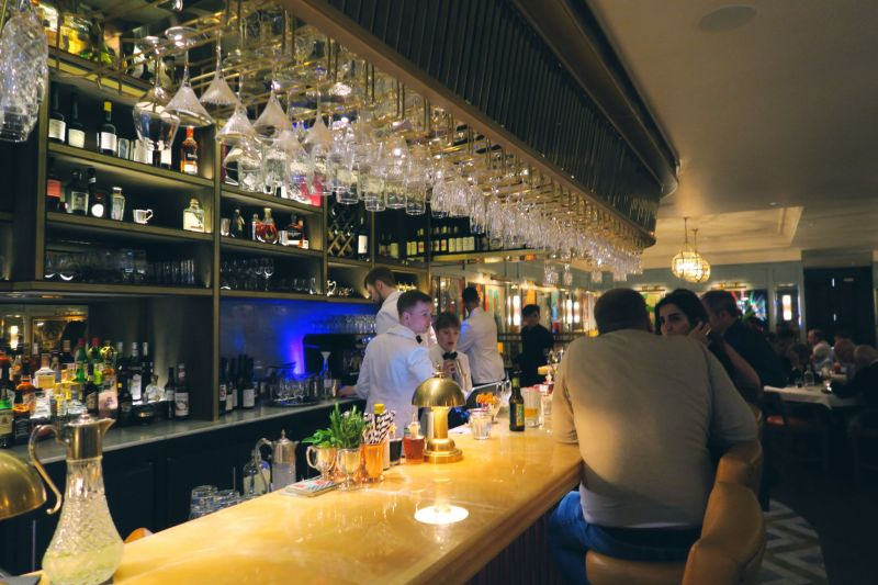 The Ivy Winchester bar