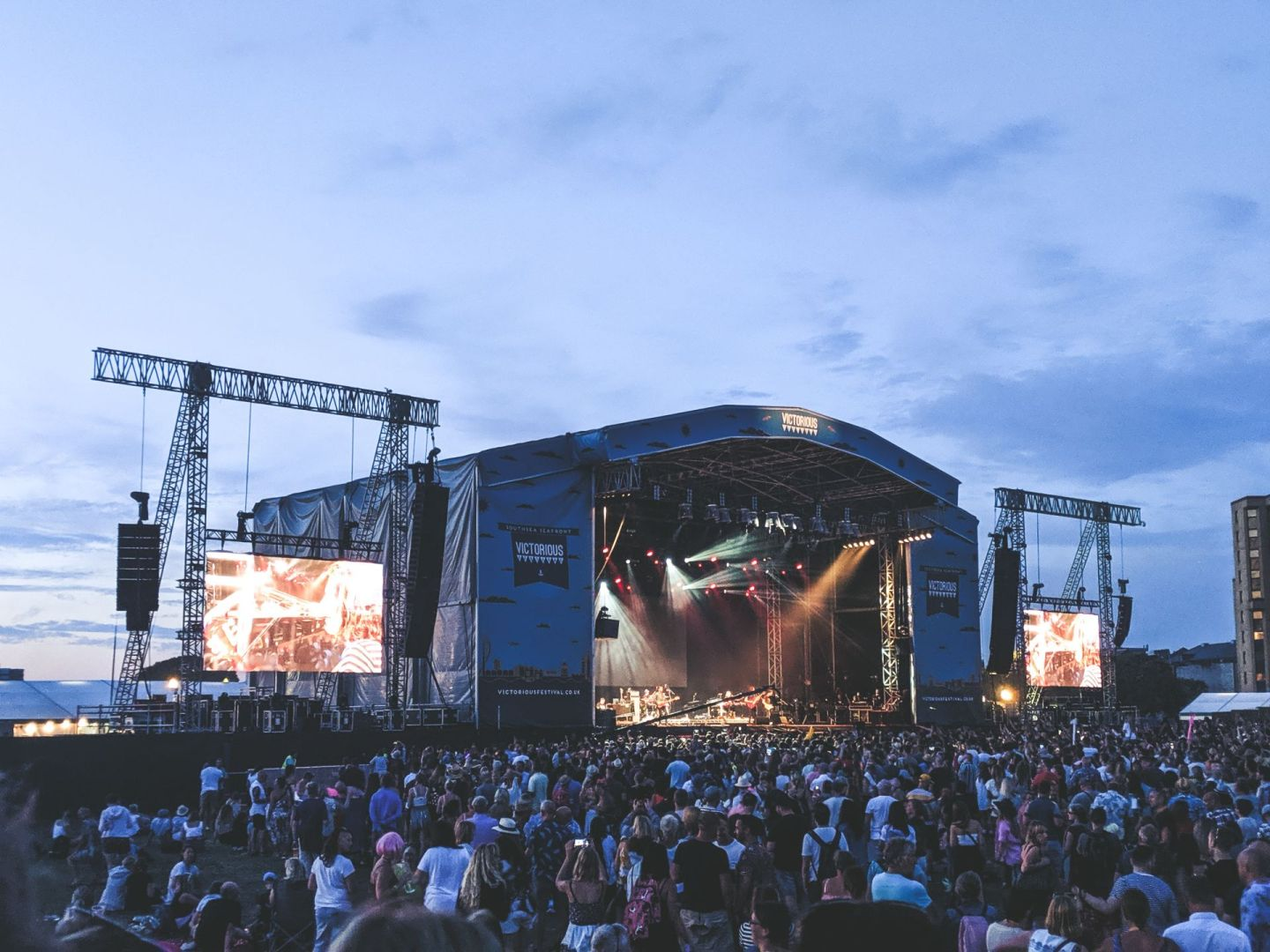 victorious festival main stage