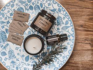 DIY Christmas ideas homemade candles