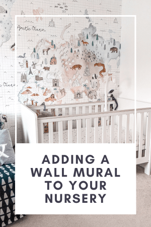 wall mural in nursery from photowall