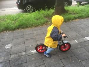 Lenz Laufrad Regen