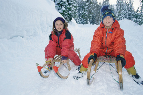 Rodel-Spaß in den Ammergauer Alpen