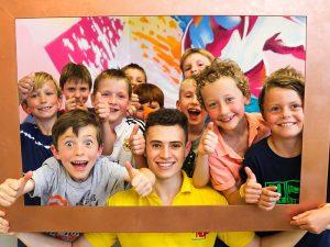 Kindergeburtstag im AirHop - 100 Prozent ein Erfolg!
