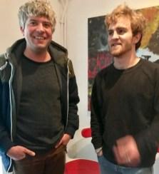 Maxi und Jakob vom Kindertonstudio
