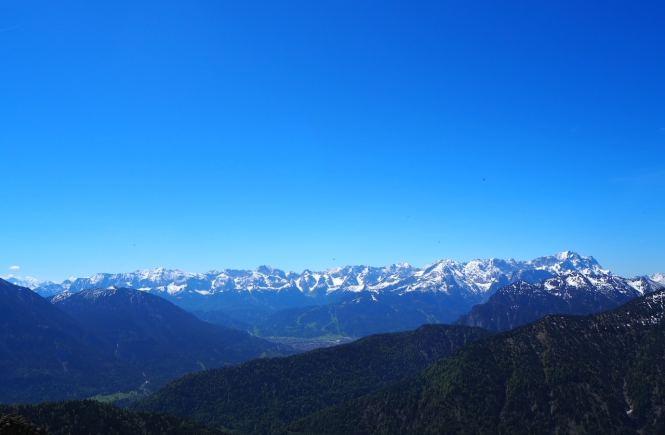Wanderung auf den Laber bei Oberammergau
