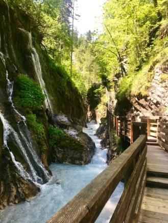 Wanderung durch die Wimbachklamm