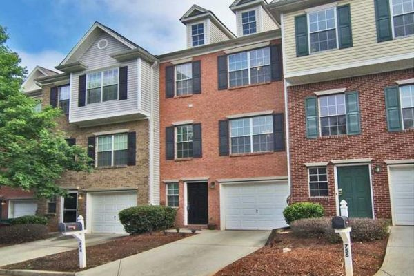 Brookside Parc Townhomes In Avondale Estates