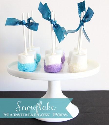 FROZEN Hot Chocolate and Sparkle Marshmallows #FrozenFun #shop #cbias