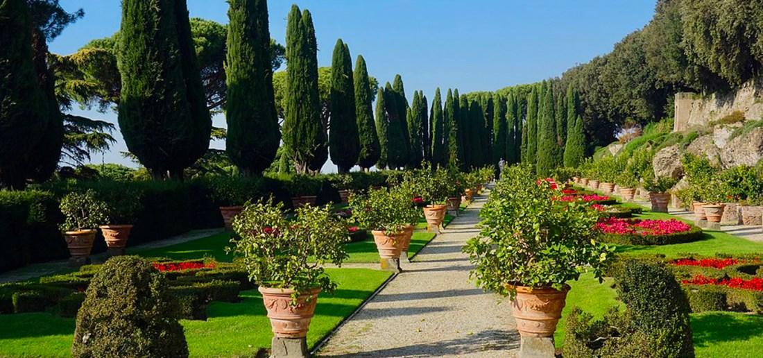 Pontifical Gardens of Castel Gandolfo WikiCommons photo by Sonse