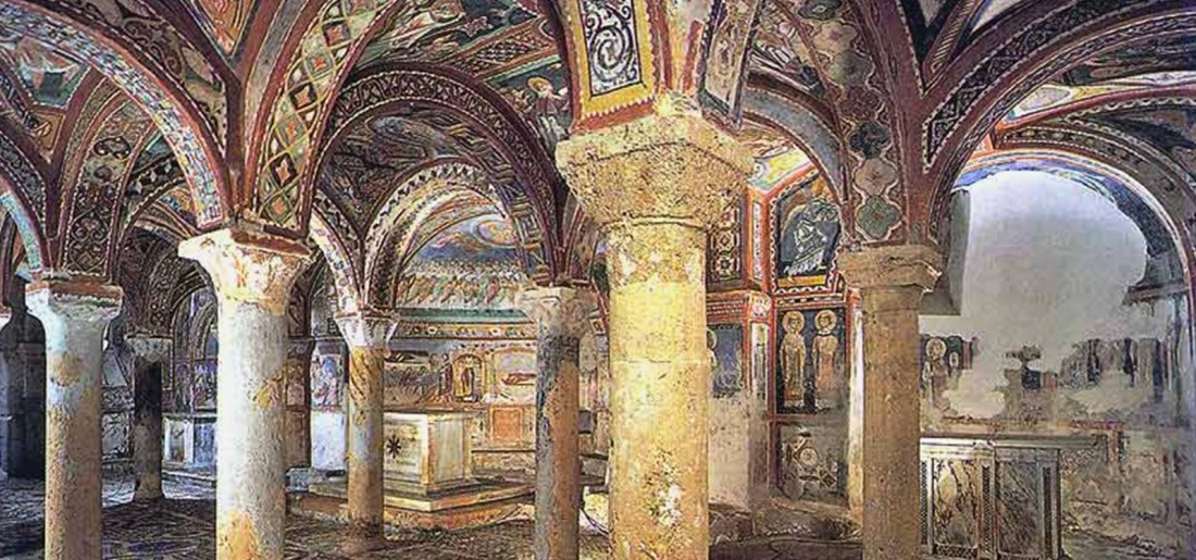 Crypt of Anagni Ciociaria
