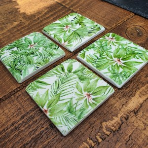 Coasters - Palm Print, garden coasters, Around the garden table, garden gifts, garden accessories, garden centre delivery, plants Kent, plants Northiam, plants maidstone, flowers Kent, flowers delivered Kent, plants, flowers, bedding plants, seasonal bedding, seasonal bedding plants, edible plants, wildlife habitats, compost and mulches Kent, garden furniture, garden furniture Kent, gardening East Sussex, locally delivered garden supplies, contactless delivery, garden supplies with contactless delivery, vegetable seeds, vegetable plants, affordable garden furniture, wholesale garden supplies, bespoke planters, gift planters, garden inspiration, heart and soul gardening, #thechickenknows, Pop-Up Garden Boutique, free local delivery plants, free local delivery garden gifts, free local delivery garden accessories
