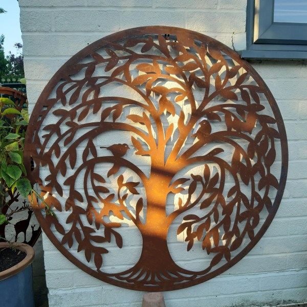 Corten Steel Wall Art - Tree of Life, Around the garden table, garden gifts, garden accessories, garden centre delivery, plants Kent, plants Northiam, plants maidstone, flowers Kent, flowers delivered Kent, plants, flowers, bedding plants, seasonal bedding, seasonal bedding plants, edible plants, wildlife habitats, compost and mulches Kent, garden furniture, garden furniture Kent, gardening East Sussex, locally delivered garden supplies, contactless delivery, garden supplies with contactless delivery, vegetable seeds, vegetable plants, affordable garden furniture, wholesale garden supplies, bespoke planters, gift planters, garden inspiration, heart and soul gardening, #thechickenknows, Pop-Up Garden Boutique, free local delivery plants, free local delivery garden gifts, free local delivery garden accessories