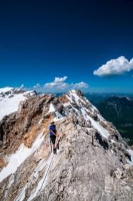 Grat zur Zugspitze