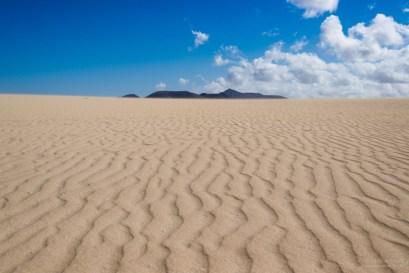 Corralejo Natural Park, überall nur Sand...