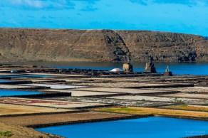 Salinas Lanzarote alte Salzfelder