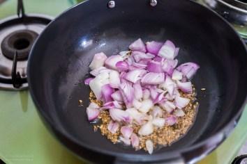 beim Kochen