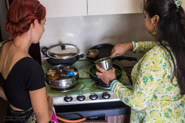 Franzi und Monica kochen
