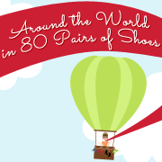 Around the World in 80 Pairs of Shoes Blog Button